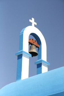 Free Greek Church Roof Royalty Free Stock Photos - 6410878