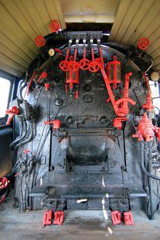 Free Iron Locomotive Royalty Free Stock Photo - 6411055