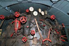 Iron Locomotive Stock Photo