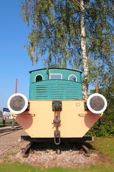 Free Old Electric Train Royalty Free Stock Image - 6411446