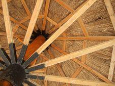 Wooden Umbrella Stock Photos