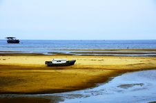Small Wooden Boat Royalty Free Stock Images