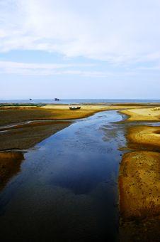 Free Flows To The Sea Stock Photo - 6411700