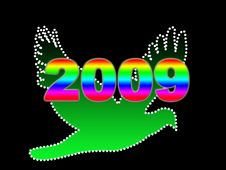 Free New Year 2009 Royalty Free Stock Photo - 6411725