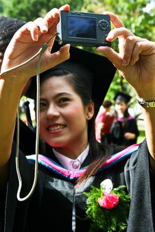 Free Asian Graduate Royalty Free Stock Image - 6412036
