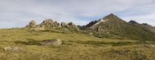 Free Panoramic Picture In High Mountains Stock Image - 6412041