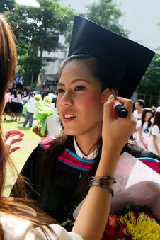 Free Asian Graduate Stock Photos - 6412163