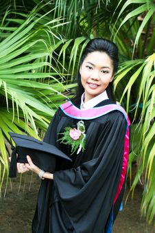 Free Asian Graduate Stock Photos - 6412213