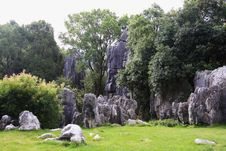 Free Stone Forest Stock Images - 6412234