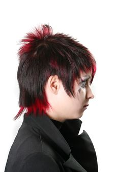 Creative Hairstyle Stock Photography