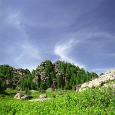 Free Rocks In High Mountains Royalty Free Stock Image - 6412406