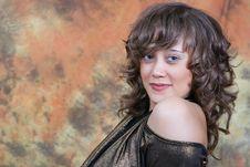 Free Woman In Studio Stock Photos - 6412513