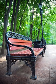 Free Bench Royalty Free Stock Images - 6412889