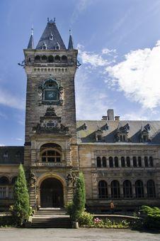Free Palace Schloss Hummelshain Stock Image - 6412971