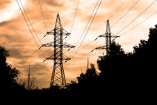 Free Power Lines Stock Photos - 6413063