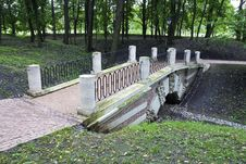 Free Bridge In Park Stock Images - 6413484