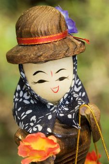 Free Wooden Doll Royalty Free Stock Photography - 6413507