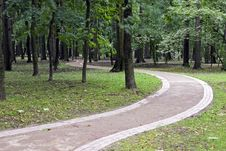 Free Footpath In Park Stock Photos - 6413553