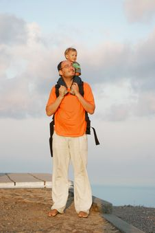 Free Father And Son Stock Photos - 6413573