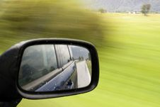 Free Rearview Mirror Royalty Free Stock Photography - 6413967