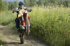 Free Motocross Rider Stock Image - 6413981