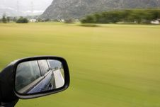 Free Rearview Mirror Royalty Free Stock Images - 6414079