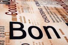 Free Bon Texture Stock Image - 6414241