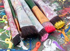 Free Paintbrush Stock Photo - 6414340