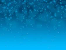Free Blue Bubble Background Royalty Free Stock Photo - 6414355