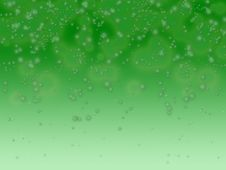 Free Green Bubble Background Royalty Free Stock Photography - 6414367