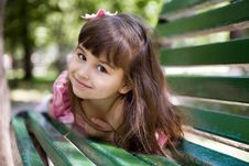 Free Girl In Summer Park Royalty Free Stock Photos - 6414658