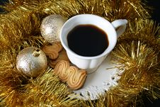 Free Christmas Morning Coffee Royalty Free Stock Photo - 6414765