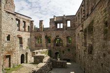 Free Castle Ruin Schloss Kranichfeld Stock Image - 6415021