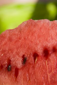 Free Slice Of Watermelon Stock Photography - 6415272