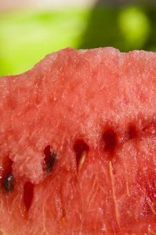 Free Slice Of Watermelon Stock Photography - 6415282