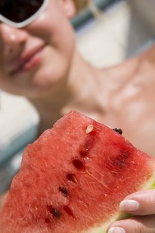 Free Watermelon Royalty Free Stock Image - 6415286