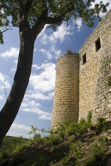 Old Castle Ruin Kunitz Royalty Free Stock Image