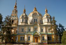 Free Orthodox Church In Central Asia Royalty Free Stock Images - 6415709