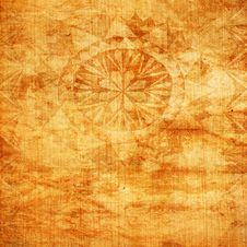 Abstract Paper Texture With Ornament Stock Photos
