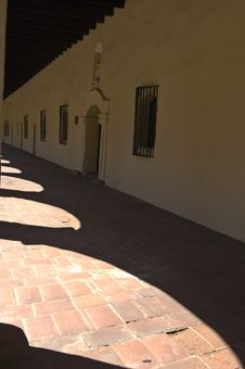 Free Shadows At Old Mission. Stock Photos - 6416093