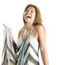 Free Ethnic Woman On White Background Stock Photos - 6416443