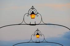 Free Lanterns At Night Stock Images - 6416544