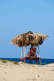Free Beach Chair Stock Photo - 6416760