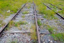 Free Railroad To Nowhere Royalty Free Stock Photography - 6416837