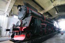 Free Iron Locomotive Royalty Free Stock Photos - 6416868