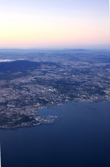 Aerial View Of Tejo Stock Photos