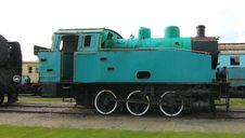 Free Darkcyan Puffer Train Royalty Free Stock Images - 6416969