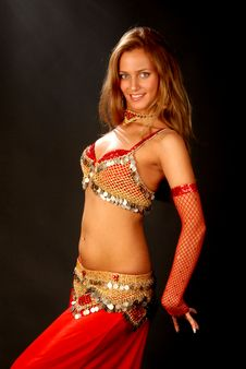 Free Bellydancer9 Stock Photography - 6417112