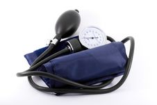 Free Clinical  Sphygmomanometer Royalty Free Stock Image - 6417256