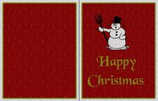 Background For Christmas Card Stock Photos
